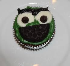 Oscar The Grouch Pumpkin Decorating by Oscar The Grouch Cupcakes U2014 Recipes Hubs