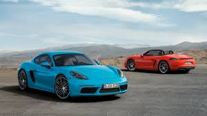porsche models 2016 2016 porsche 718 cayman pricing and specifications photos 1 of 8