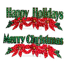merry christmas sign shop living pre lit merry christmas with constant clear