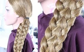 Frisuren Mittellange Haare Zopf by Einfache Frisuren Schöne Flechtfrisur Mittellange Lange Haare