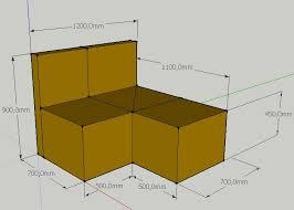 canap sketchup recherche design pour un canapé d angle deux places 3