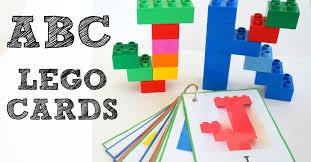 alphabet lego cards uppercase free printable wildflower