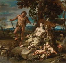 adam and eve with the infants cain and abel lorenzo de u0027 ferrari
