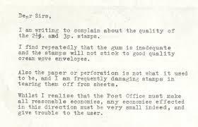 letters of complaint the british postal museum u0026 archive blog