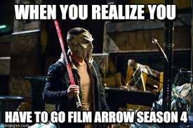 Arrow Meme - arrow when you realize you on memegen