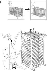 Convertible Crib Hardware by Pali Crib Instructions Baby Crib Design Inspiration