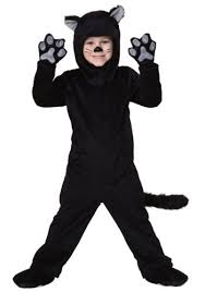 amazon com little boys u0027 toddler black cat costume clothing