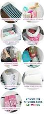 Liner For Under Kitchen Sink by Best 20 Under Kitchen Sink Storage Ideas On Pinterest Bathroom