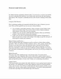 Best Resume Executive Summary that only sample bakery business plan template executive summary