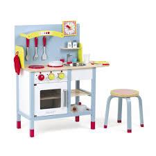 cuisine en bois pour enfant 2 en 1 multicolore picnik duo les