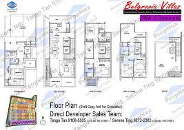 cluster home floor plans belgravia villas floor plans d 20 belgravia villas freehold
