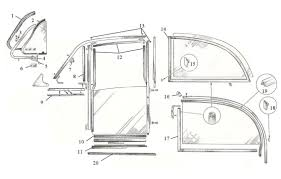 british auto parts ltd door window and seals
