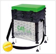 panier siege caisse à pêche cat fish pvc pieds reglables produit fabriqué ou