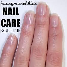 my nail care routine u2013 honeymunchkin