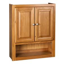 Bathroom Furniture Oak Raised Panel Oak Bathroom Cabinet Free Shipping Today