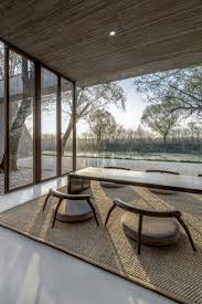 best 25 zen design ideas on pinterest center table diy 3d low wood chairs at waterside buddhist shrine by archstudio photo by wang ning jin
