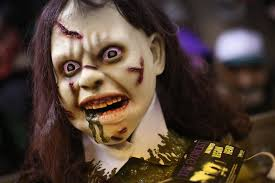 Exorcist Halloween Costume Possessed Demon Reveals Exorcist