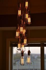 Light Bulb Chandeliers Light Bulb Chandelier Dsc 0210 Light Bulb Chandelier M Flickr