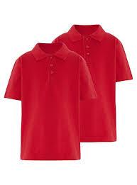 school 2 pack polo shirts school george at asda