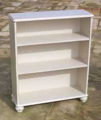 solid pine rustic shabby chic cream bookcase shelves in ardleigh