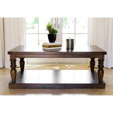 Cypress Dining Table by Abbyson Weathered Oak Cypress Wood Coffee Table