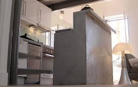 bureau beton ciré travaux peinture alternative déco travaux