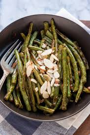 green beans thanksgiving recipe recipe roasted green beans with harissa kitchn