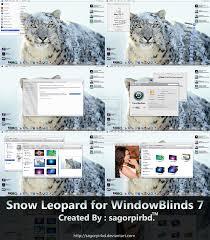 Window Blinds Windows 7 Snow Leopard For Windowblind 7 By Sagorpirbd On Deviantart