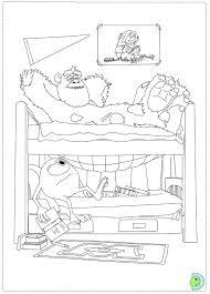 monsters university coloring dinokids org