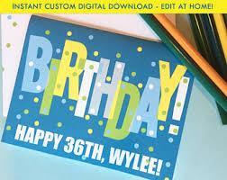 diy birthday cards etsy