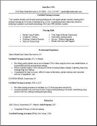 nursing assistant resume example home health aide resume sample