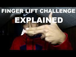 Challenge Explicacion Finger Lift Challenge Explained