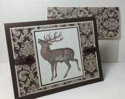 hunting card etsy