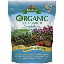 amazon com espoma ss8 8 quart organic seed starter soil peat