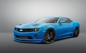 light blue camaro come see the lysholm supercharged all