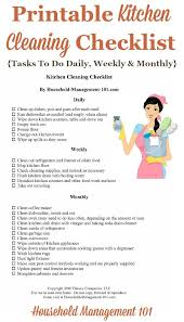 513 best printables images on pinterest house cleaning checklist
