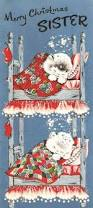 vintage 1950s merry christmas grandma cat christmas