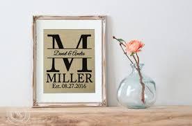 home interiors and gifts framed diy wedding framed burlap print diy home decor gift for