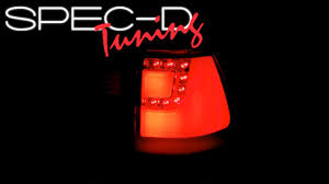 e38 euro tail lights specdtuning demo video 2000 2006 bmw e53 x5 led tail lights youtube