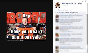 Syracuse Memes - top 15 su memes cus basement