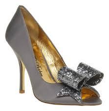 womens grey boots sale ted baker keanah peeptoe court shoe grey glitter in gray lyst