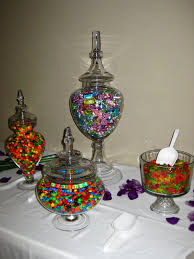 Candy Buffet Apothecary Jars by Candy Table Annateague