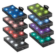 remote controlled led light pod w remote