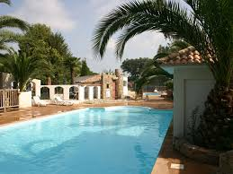 mobile home bungalow camping near the sea 3 swimming pools