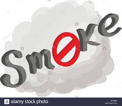no smoking sign transparent background no smoking sign icon cartoon style stock vector art illustration