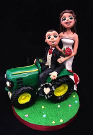tractor wedding cake topper tractor wedding cake topper fimo a photo on flickriver