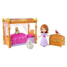 chambre princesse sofia princesse sofia le lit royal achat vente figurine