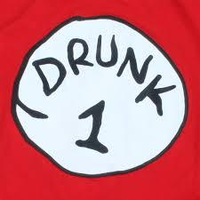 drunk 1 bottle opener red shirt