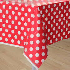 red white polka dot table covers red polka dot table cover