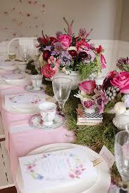 tea party table indoor garden tea party for a shower darleen a